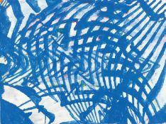 Terry WintersUntitledGouache auf festem Velin. 2005. Ca. 57 x 76,5 cm. Monogrammiert und da