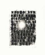 Glenn LigonDiptychon: Untitled (negro sunshine)Radierung mit Aquatinta auf Velinkarton. (20