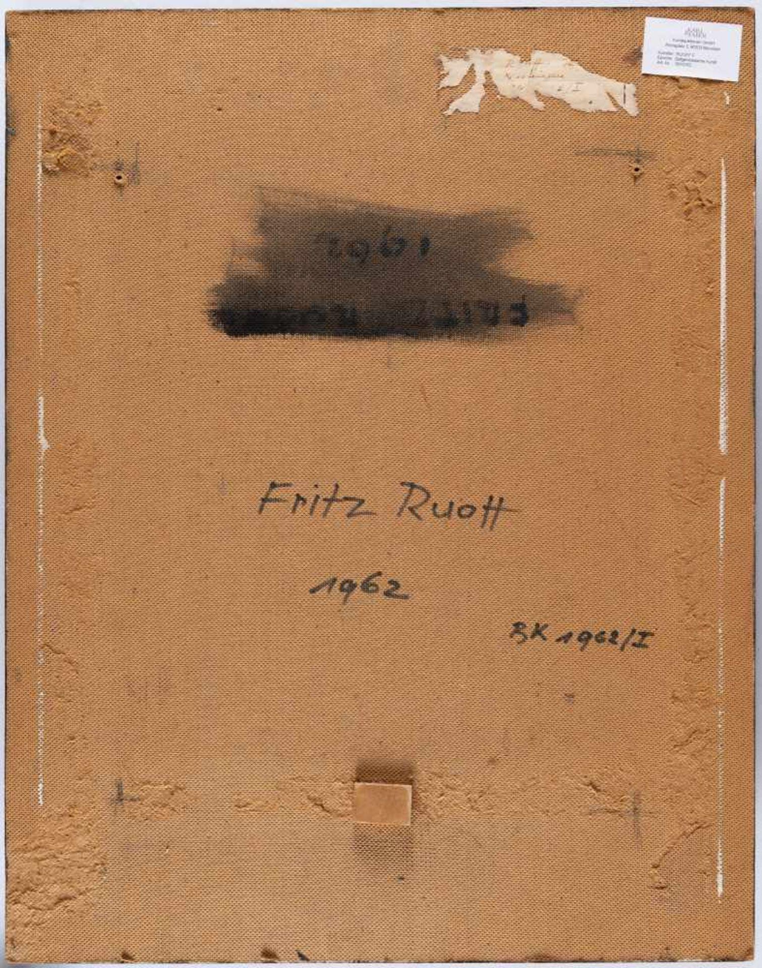 Fritz Ruoff - Bild 3 aus 3
