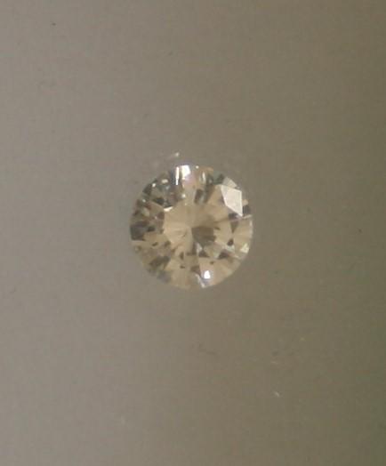 Diamant solitaire rond de 1,08 Ct, couleur Wesselton (H), pureté VS - - Round [...] - Image 2 of 2