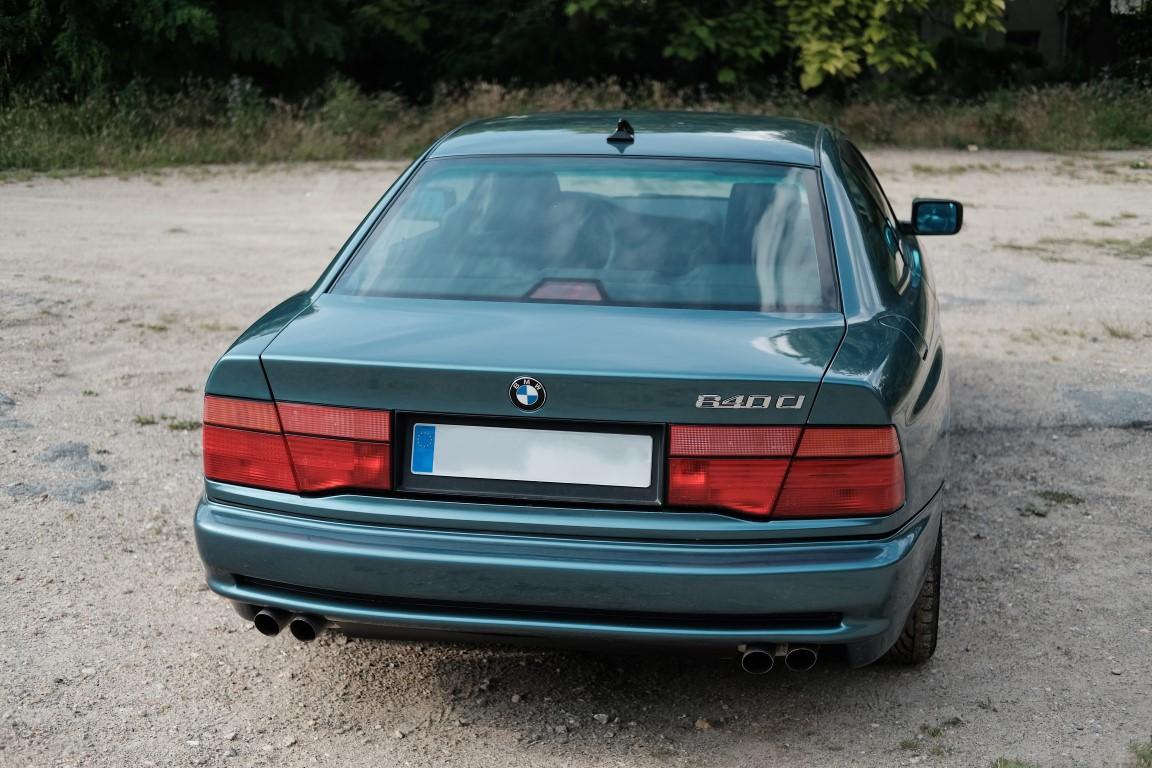 BMW 840 de 1998, cylindrée de 4,4 L, 220.000 kms, 3 propriétaires successifs, [...] - Image 2 of 8