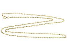 Kette/Collier: goldene, neuwertige Collierkette