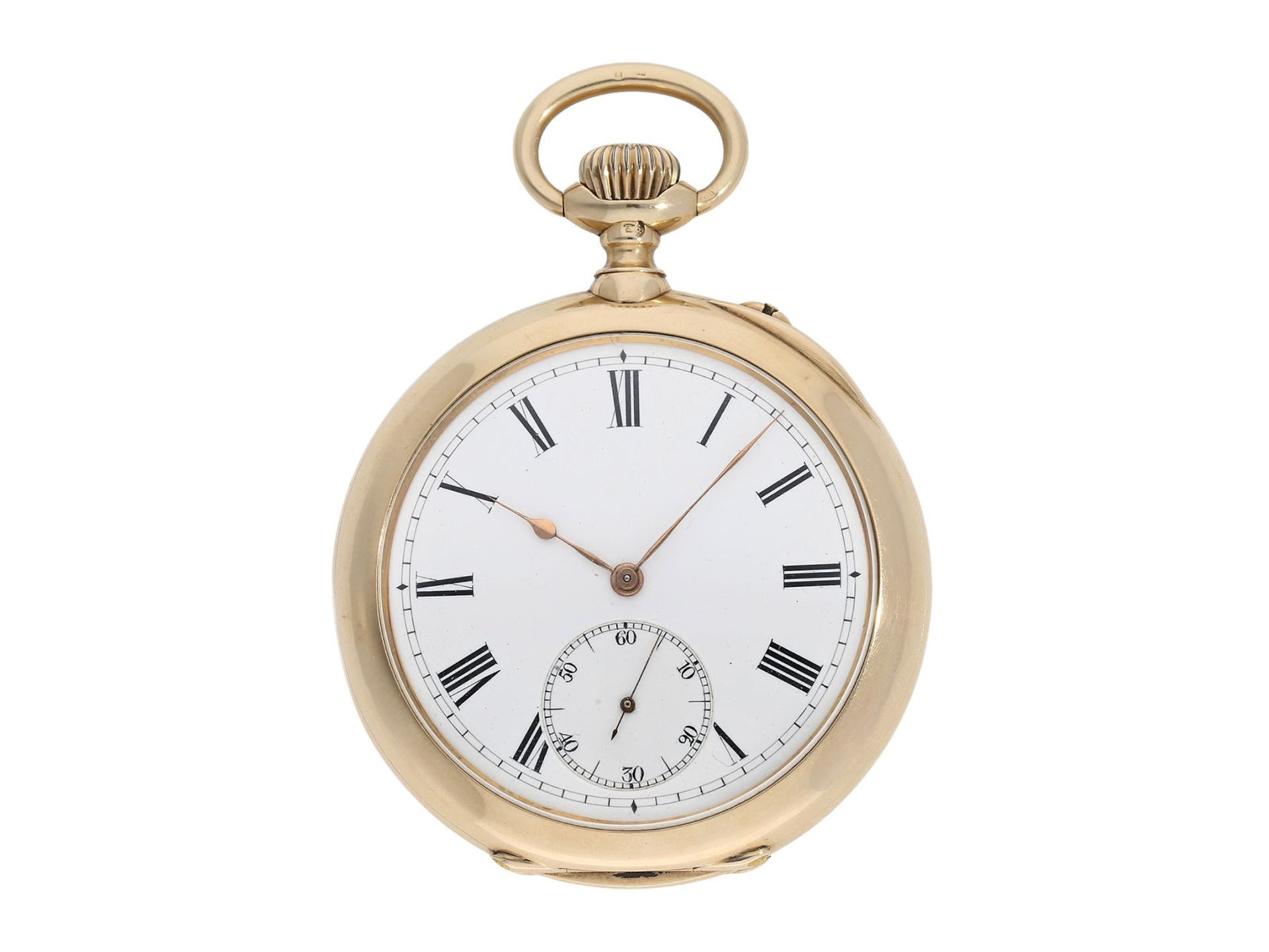 "Pocket watch: very rare IWC precision pocket watch quality ""EXTRA"", No. 181428, Schaffhausen ca."