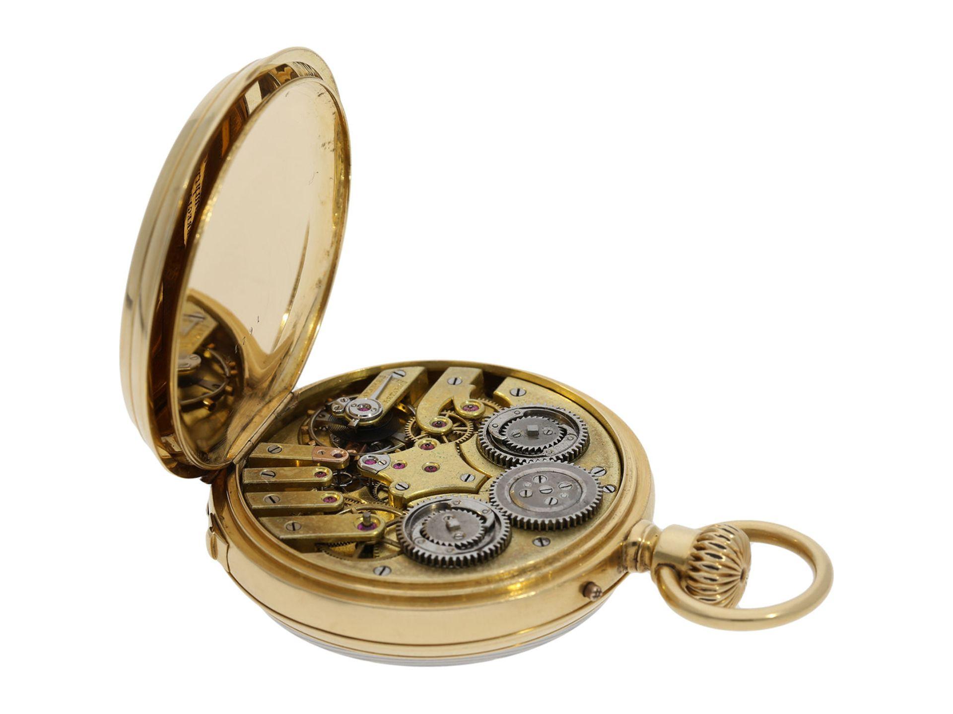 Pocket watch: early precision pocket watch with Seconde Morte, very fine quality, DuBois & LeRoy No. - Bild 3 aus 5