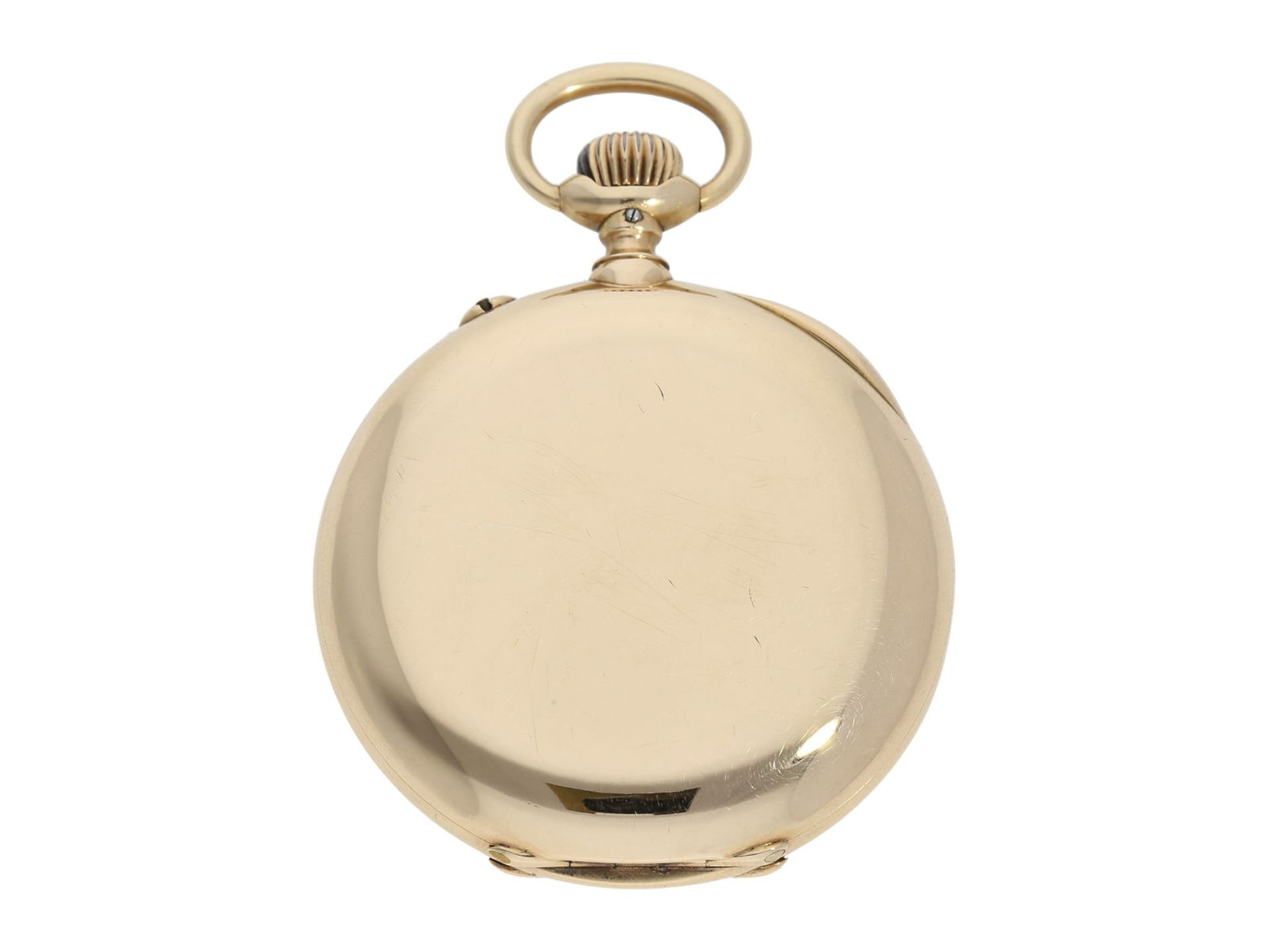 "Pocket watch: very rare IWC precision pocket watch quality ""EXTRA"", No. 181428, Schaffhausen ca. - Bild 6 aus 6"