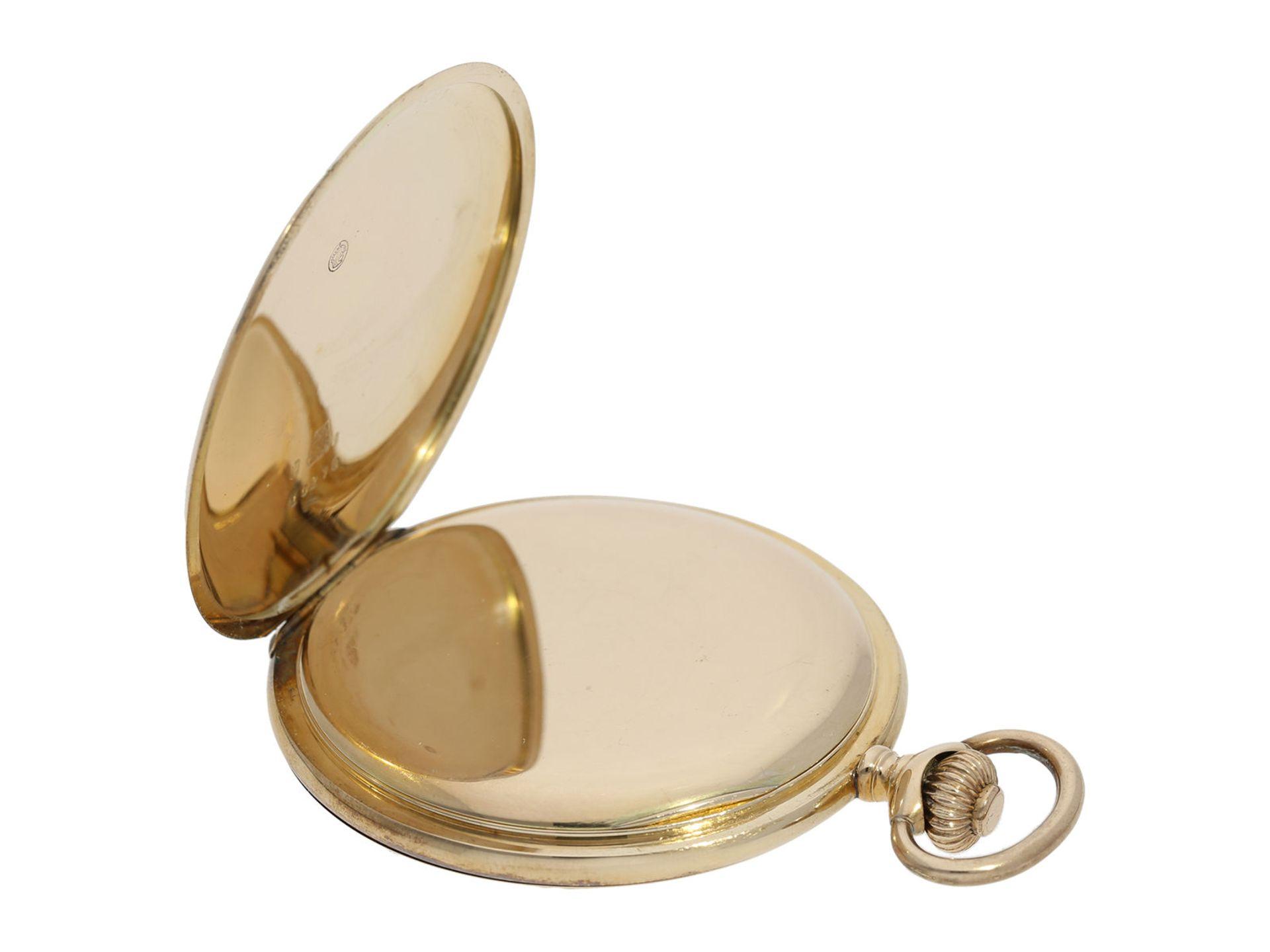 Pocket watch: historically interesting gold hunting case watch from the property of Kurt von - Bild 5 aus 7