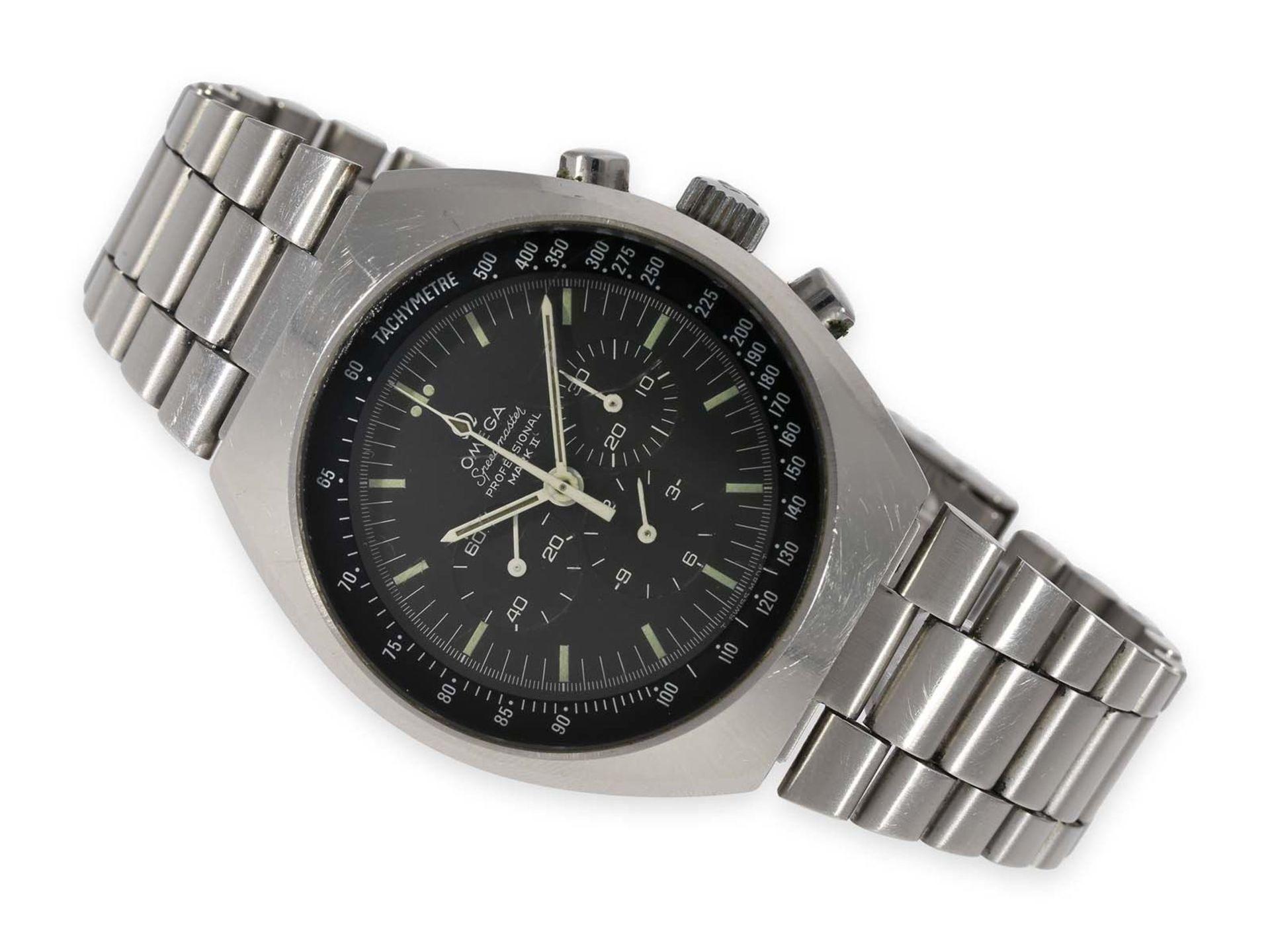 "Wristwatch: vintage Omega Speedmaster Chronograph ""Mark II"", reference 145.014, ca. 1970"