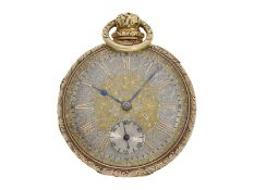 "Pocket watch: Liverpool splendour pocket watch around 1830, with stop-seconds and ""Liverpool"