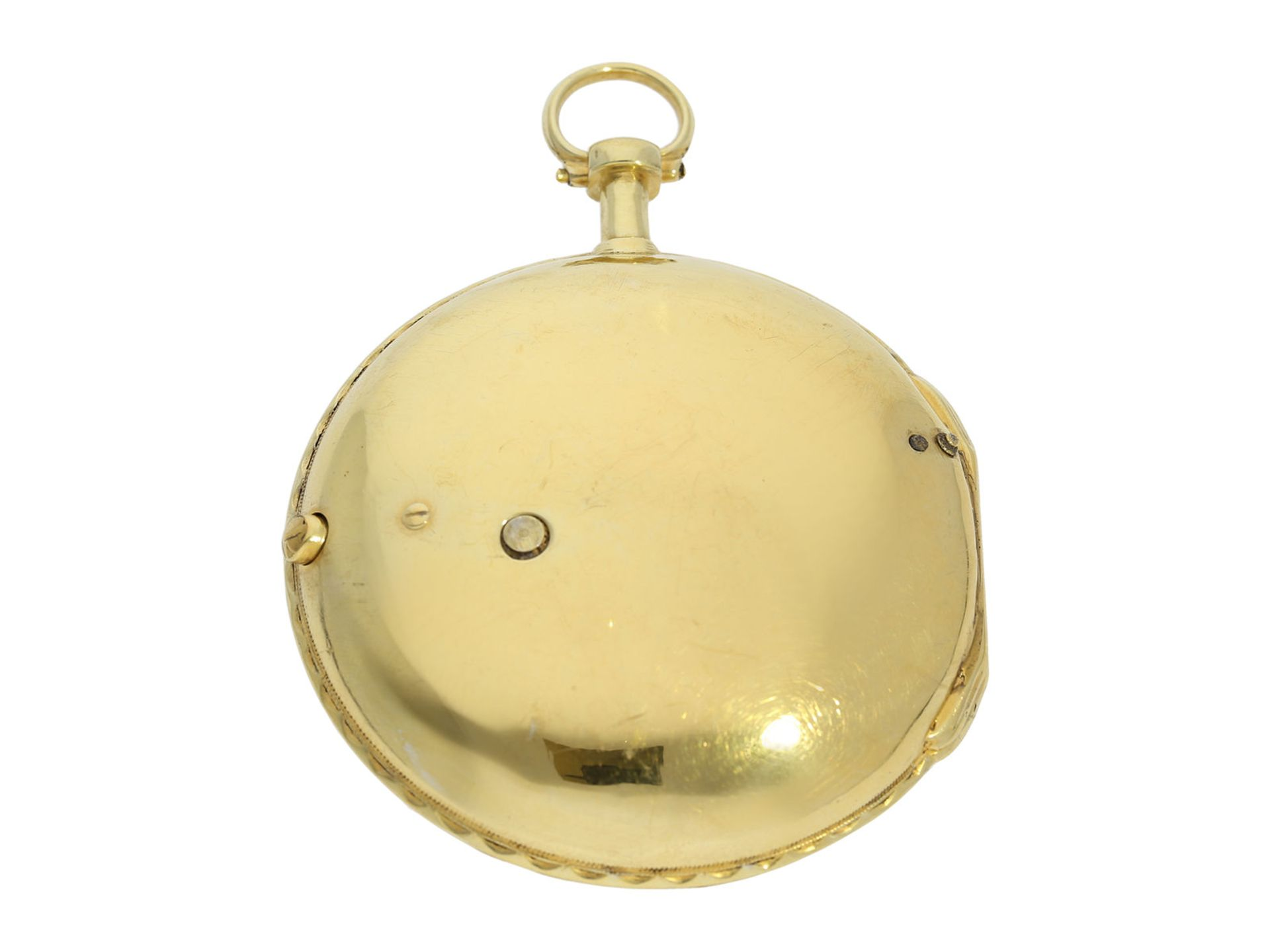 Pocket watch: exceptionally well preserved large verge watch for the Ottoman market, Royal - Bild 2 aus 7