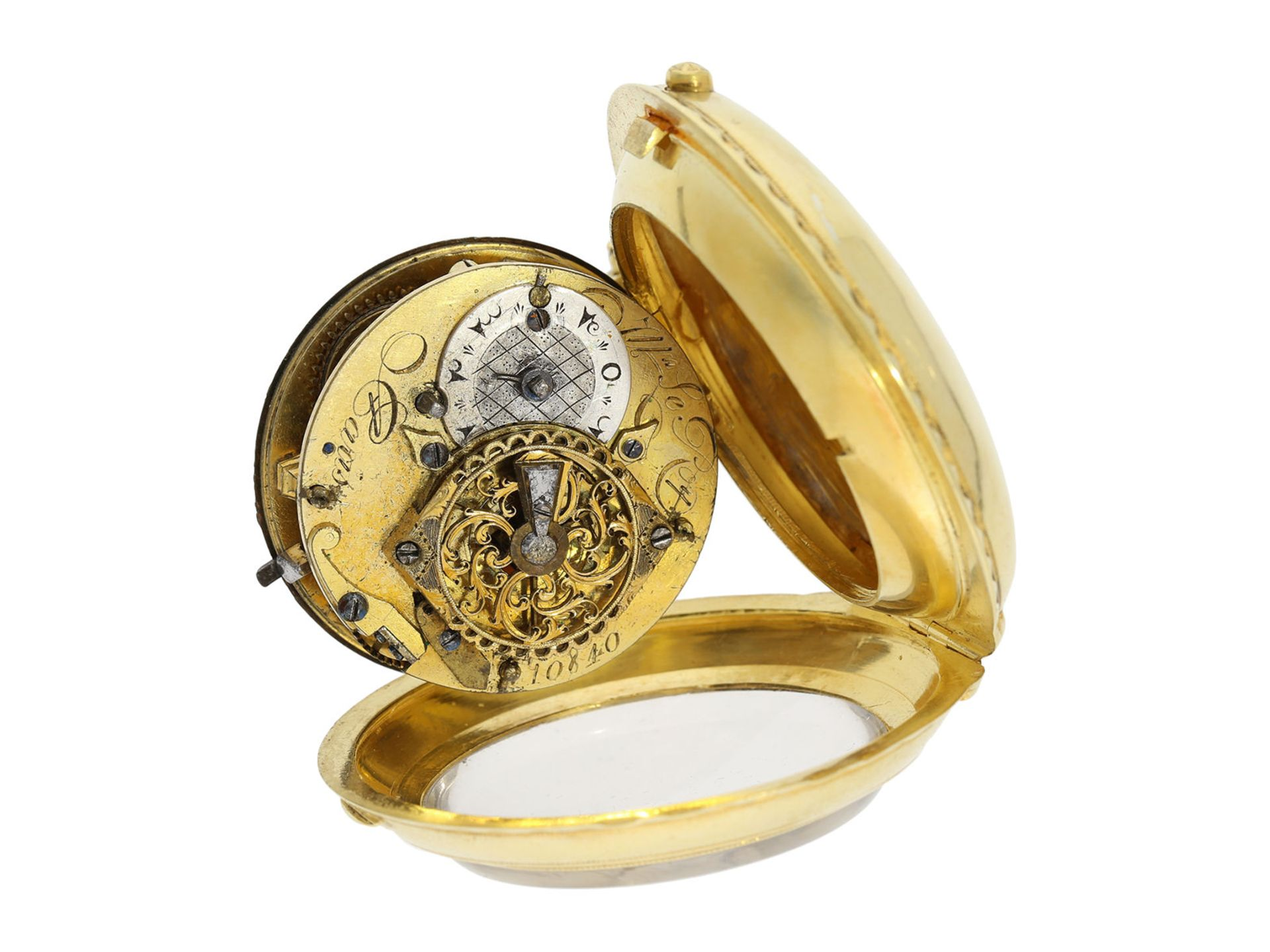 Pocket watch: exceptionally well preserved large verge watch for the Ottoman market, Royal - Bild 7 aus 7