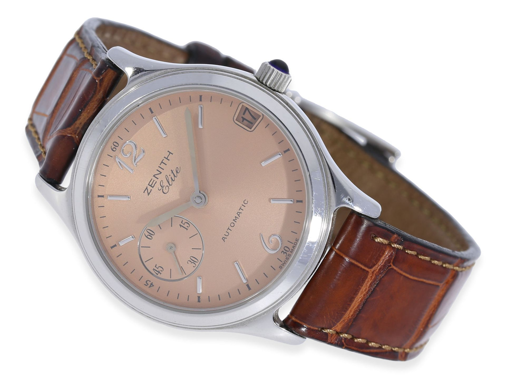 "Wristwatch: extremely elegant Zenith automatic watch, model ""Elite"", ca. 2000"