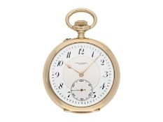 Pocket watch: exquisite Geneva Ankerchronometer, high quality, Alex Hüning Geneva No. 40830, ca.