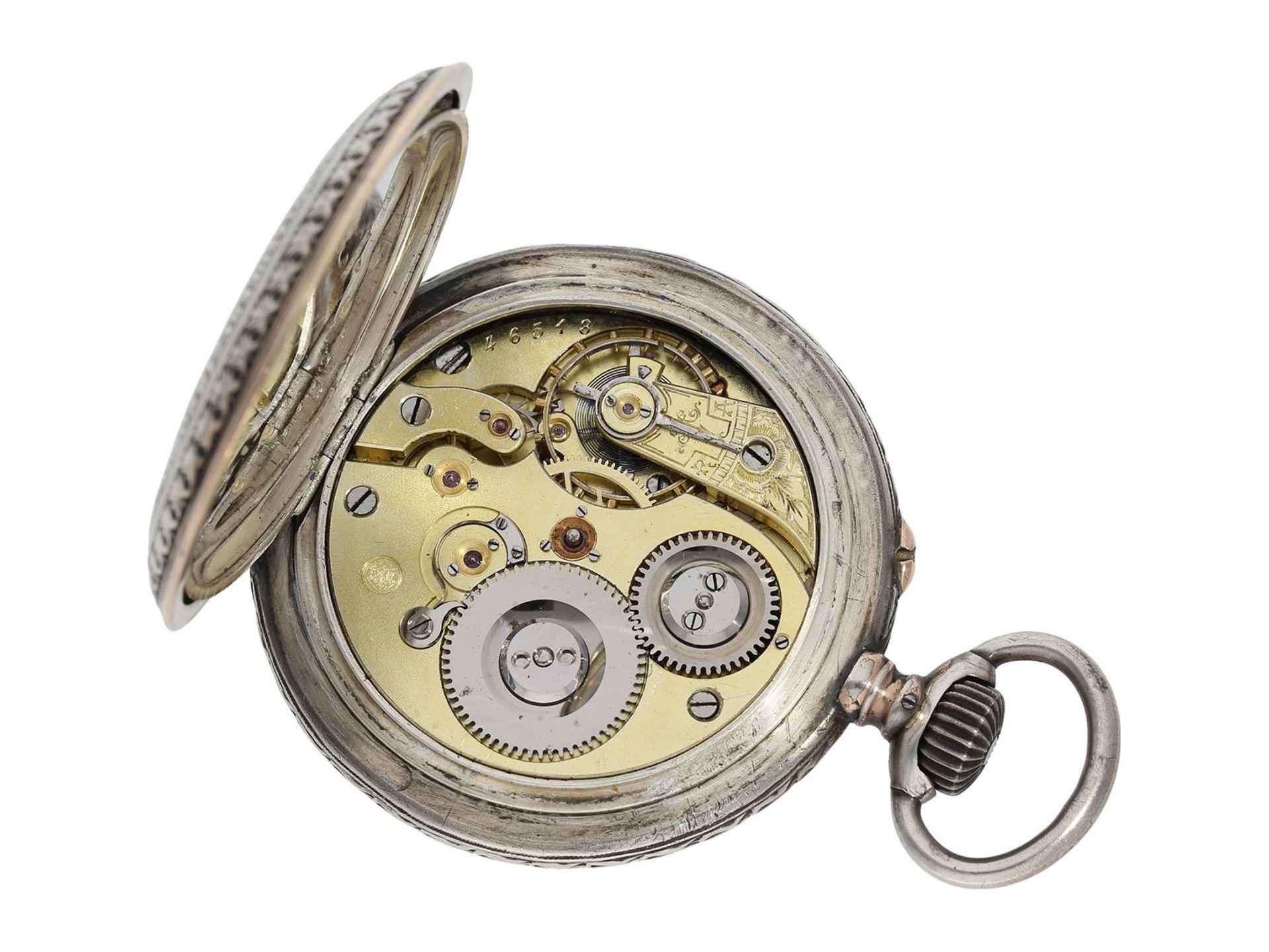 Pocket watch: large IWC marksman's watch, Federal Shooting Festival Frauenfeld 1890 - Bild 4 aus 6