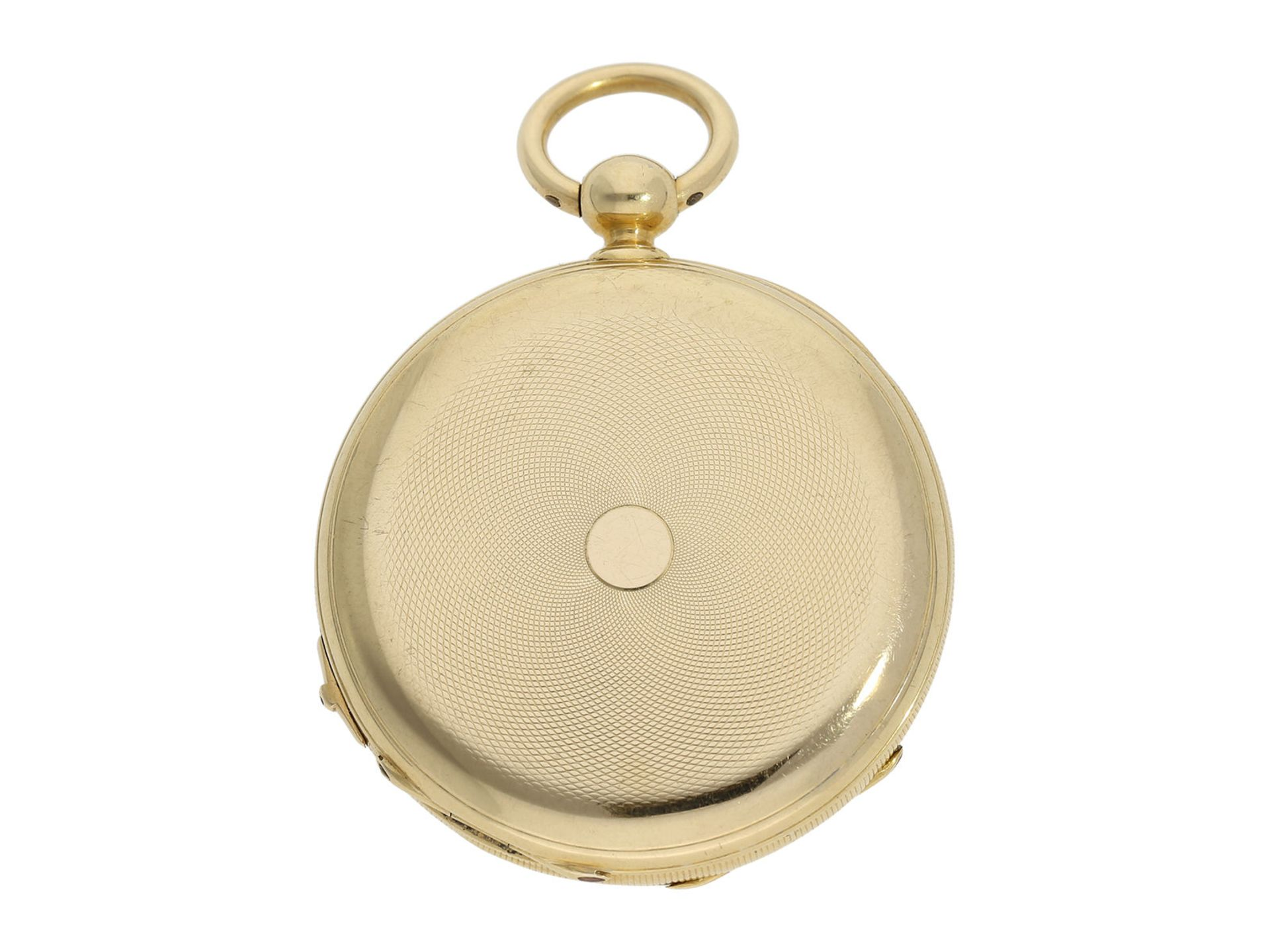 Pocket watch: fine Lepine with Seconde Morte, DuBois & Fils Geneve No. 11311, ca. 1850 - Bild 6 aus 6