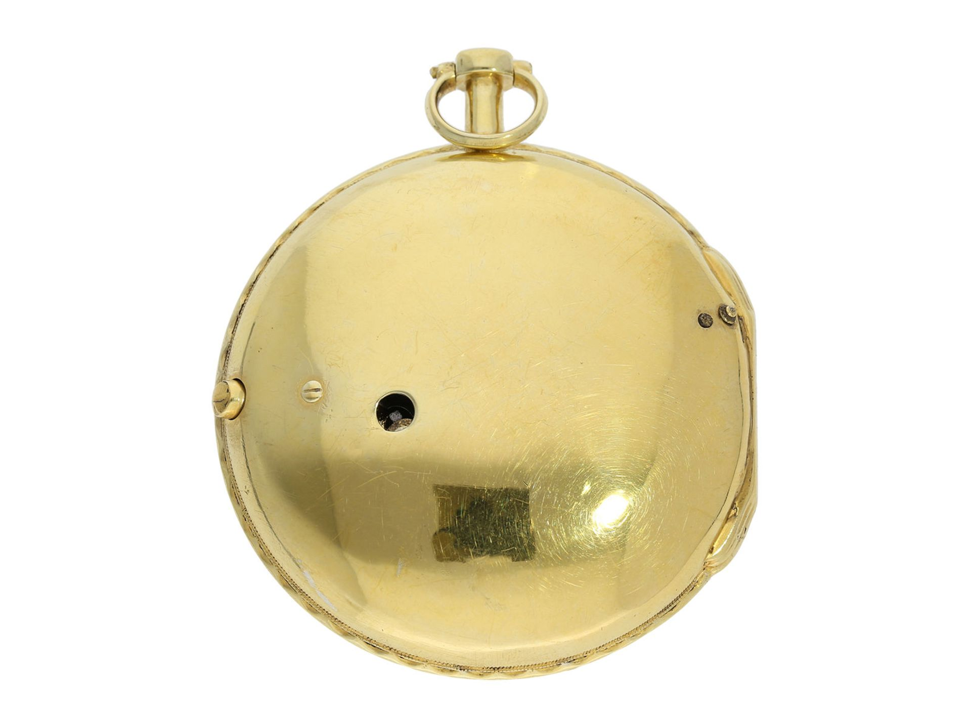 Pocket watch: exceptionally well preserved large verge watch for the Ottoman market, Royal - Bild 6 aus 7