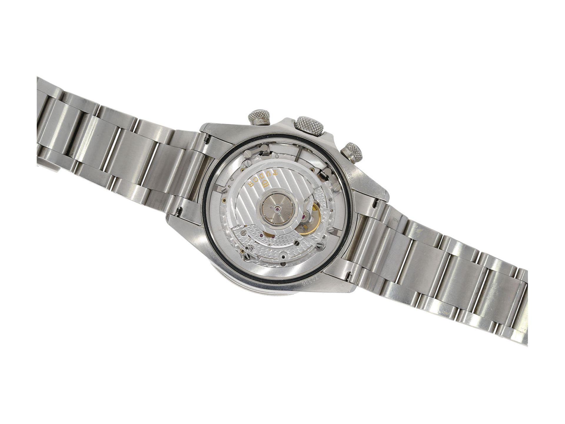 "Wristwatch: sporty and very attractive man's chronograph, Tudor ""Black Bay Heritage"" Ref. 70330N, - Bild 4 aus 6"