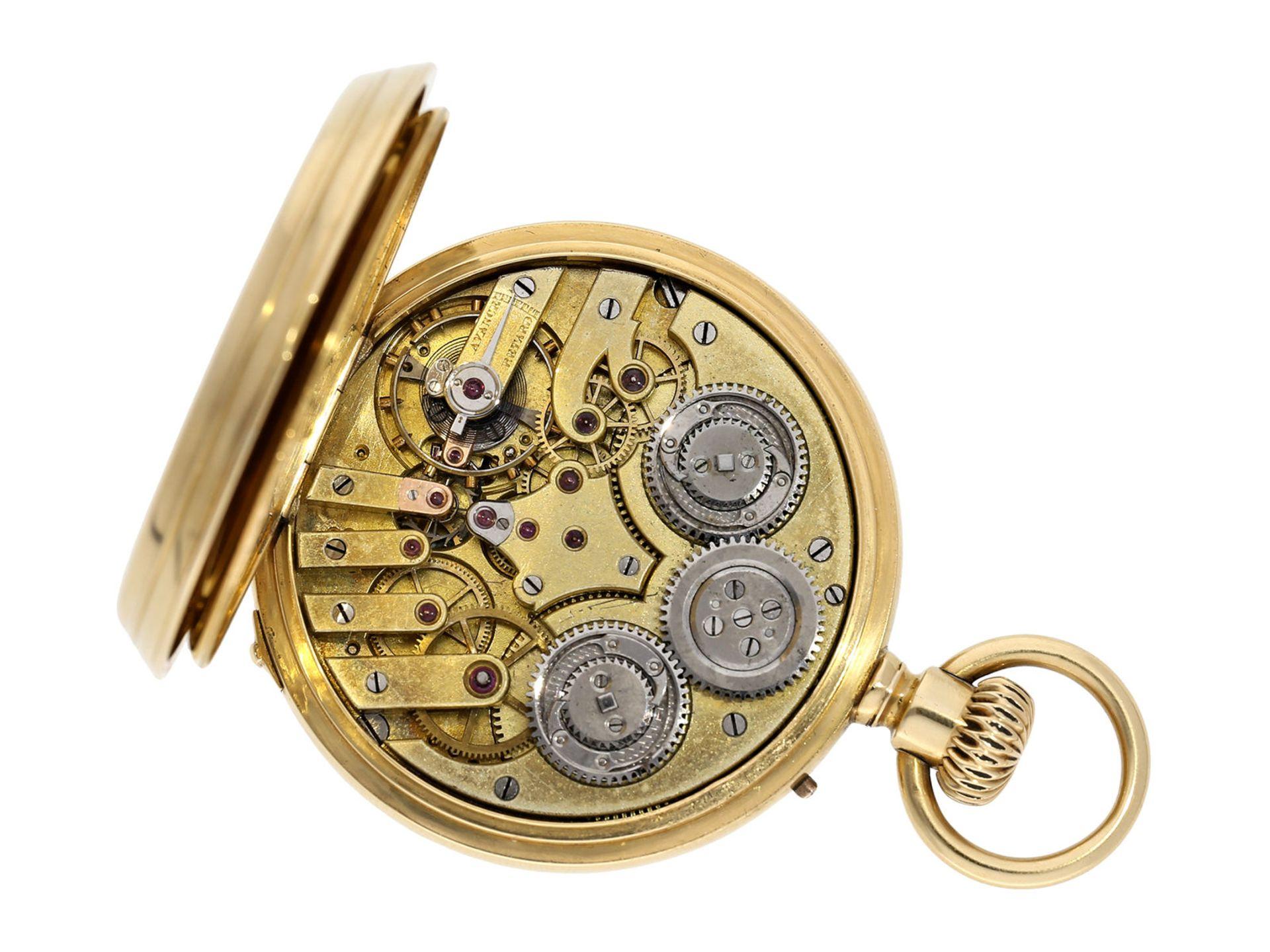 Pocket watch: early precision pocket watch with Seconde Morte, very fine quality, DuBois & LeRoy No. - Bild 2 aus 5