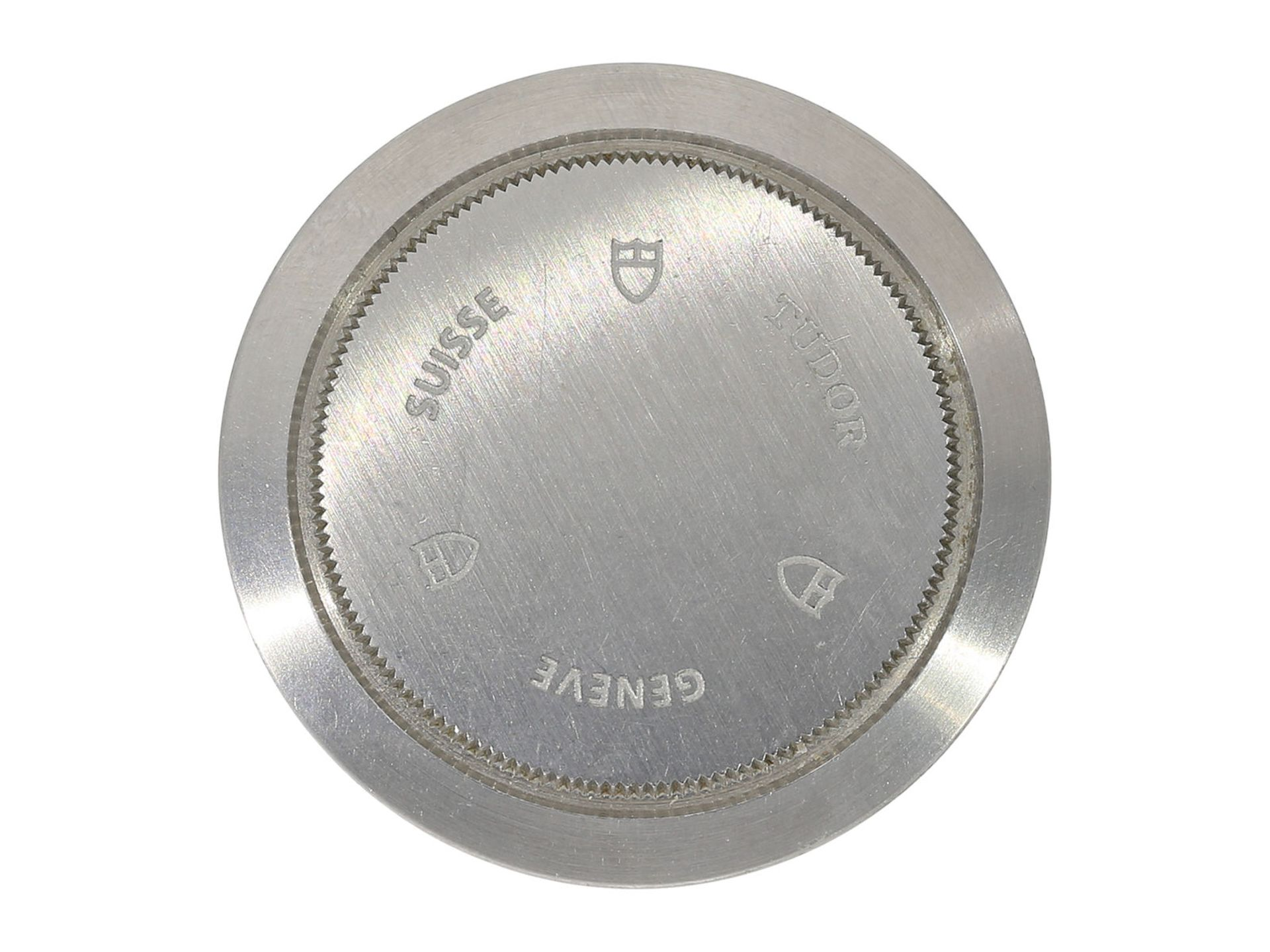 "Wristwatch: sporty and very attractive man's chronograph, Tudor ""Black Bay Heritage"" Ref. 70330N, - Bild 6 aus 6"