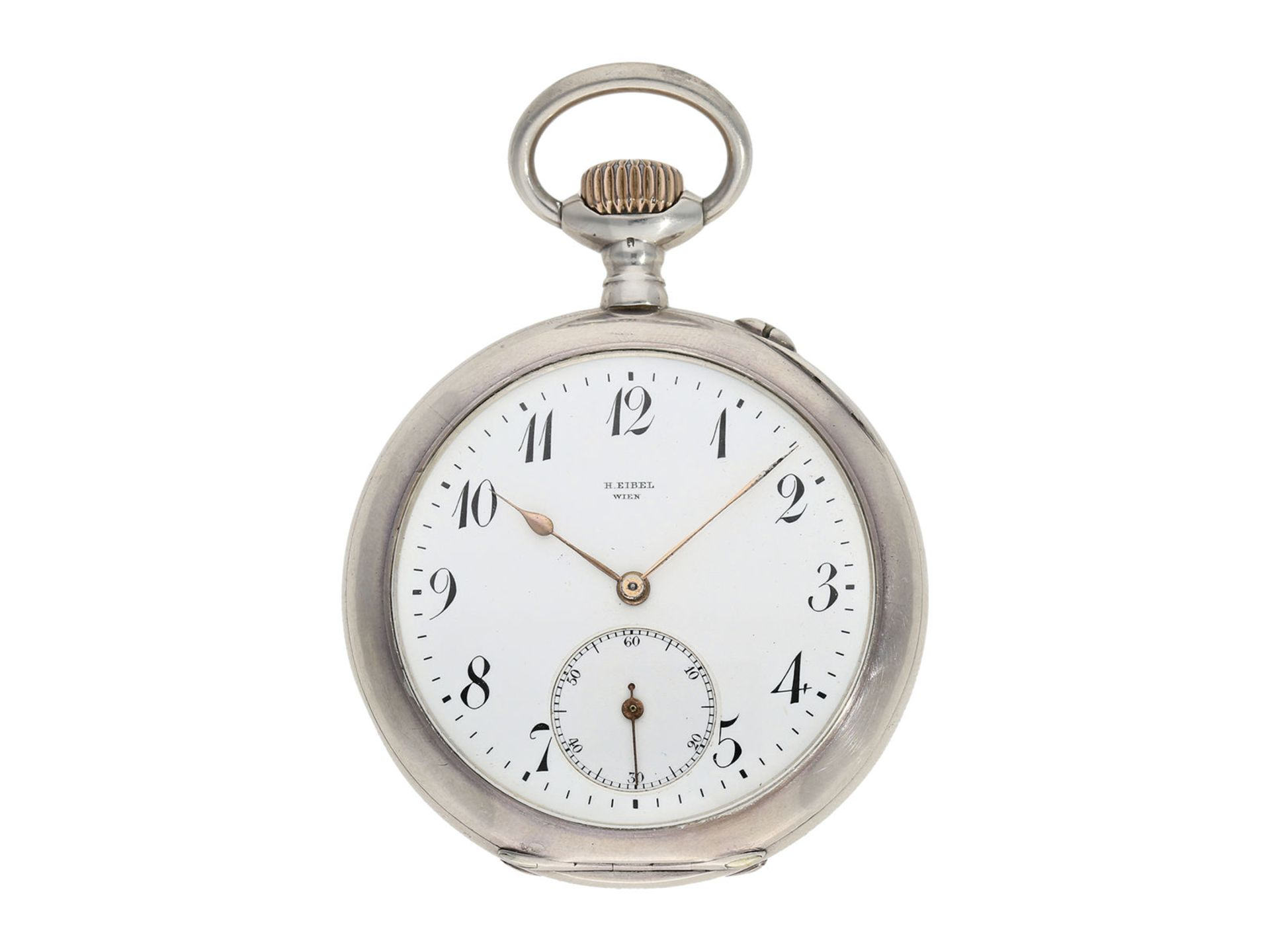 """Pocket watch: early IWC man's pocket watch rare quality """"Extra"""", Schaffhausen 1902, delivered to"""