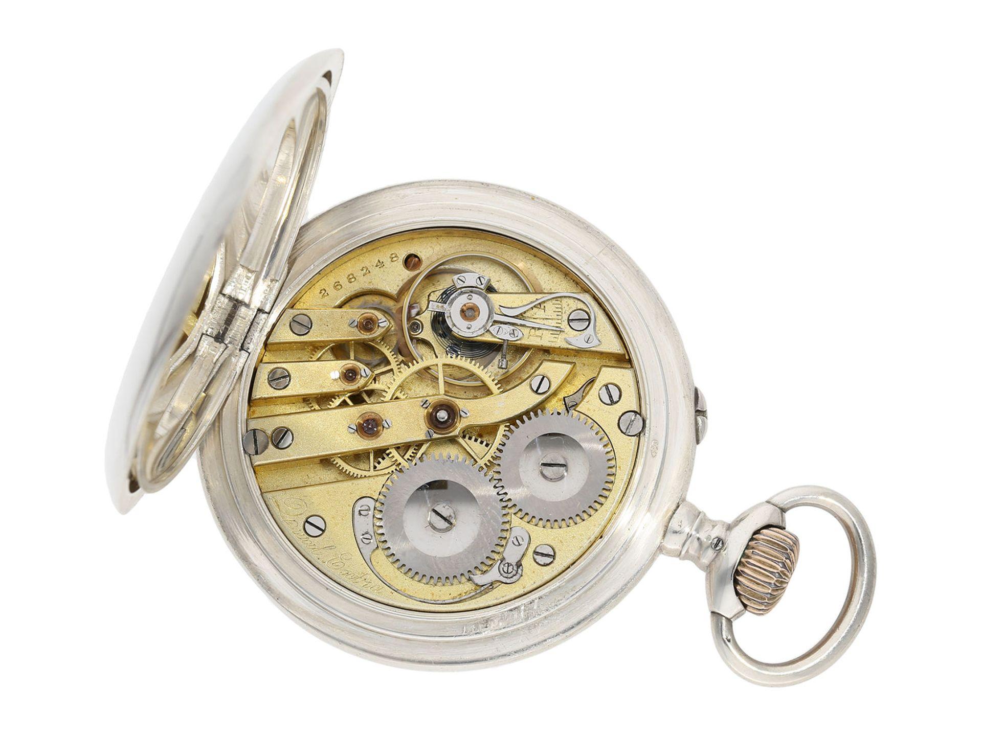 "Pocket watch: early IWC man's pocket watch rare quality ""Extra"", Schaffhausen 1902, delivered to - Bild 2 aus 6"