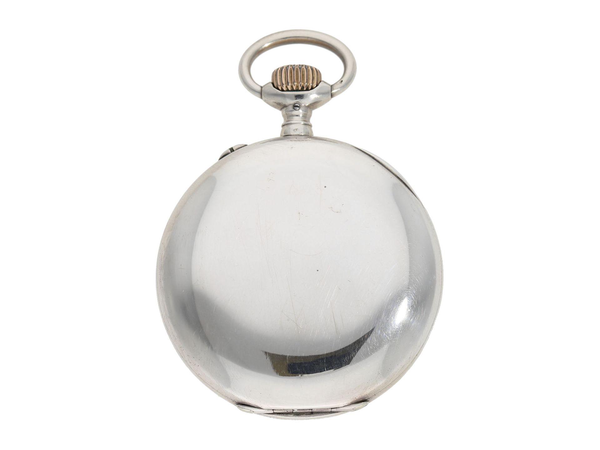 "Pocket watch: early IWC man's pocket watch rare quality ""Extra"", Schaffhausen 1902, delivered to - Bild 6 aus 6"