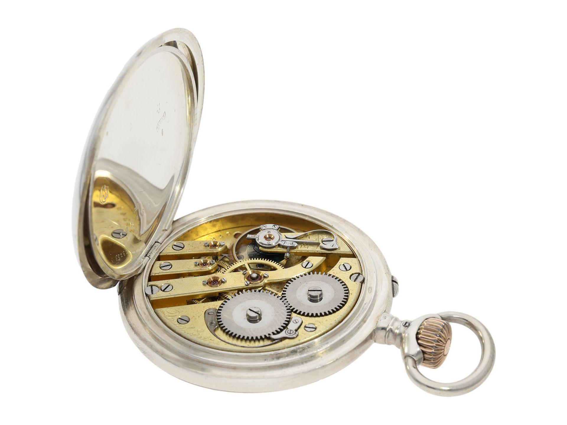 "Pocket watch: early IWC man's pocket watch rare quality ""Extra"", Schaffhausen 1902, delivered to - Bild 5 aus 6"