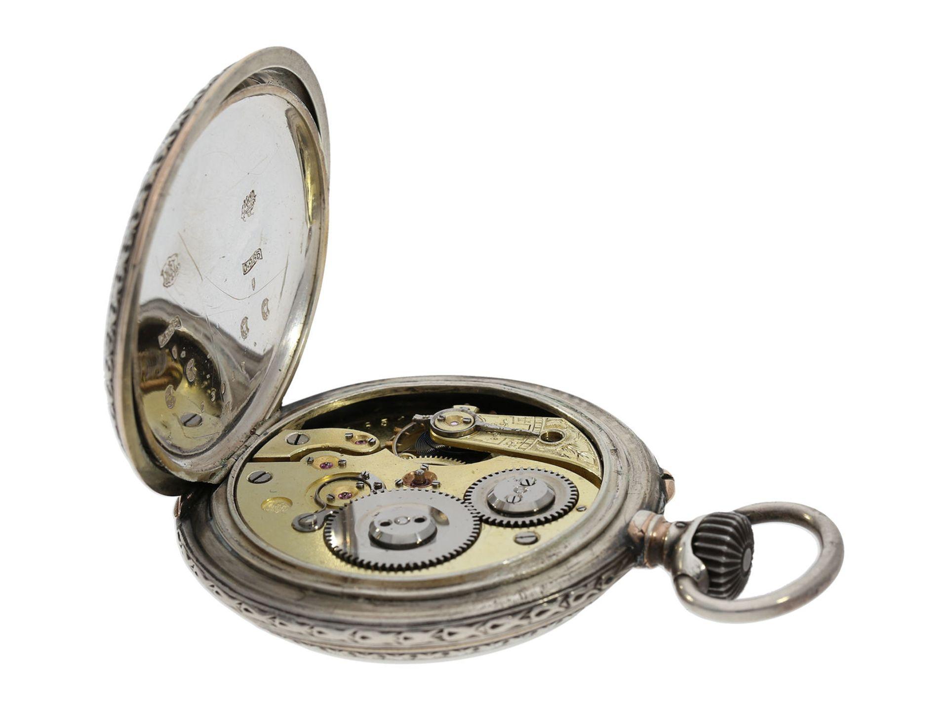 Pocket watch: large IWC marksman's watch, Federal Shooting Festival Frauenfeld 1890 - Bild 5 aus 6