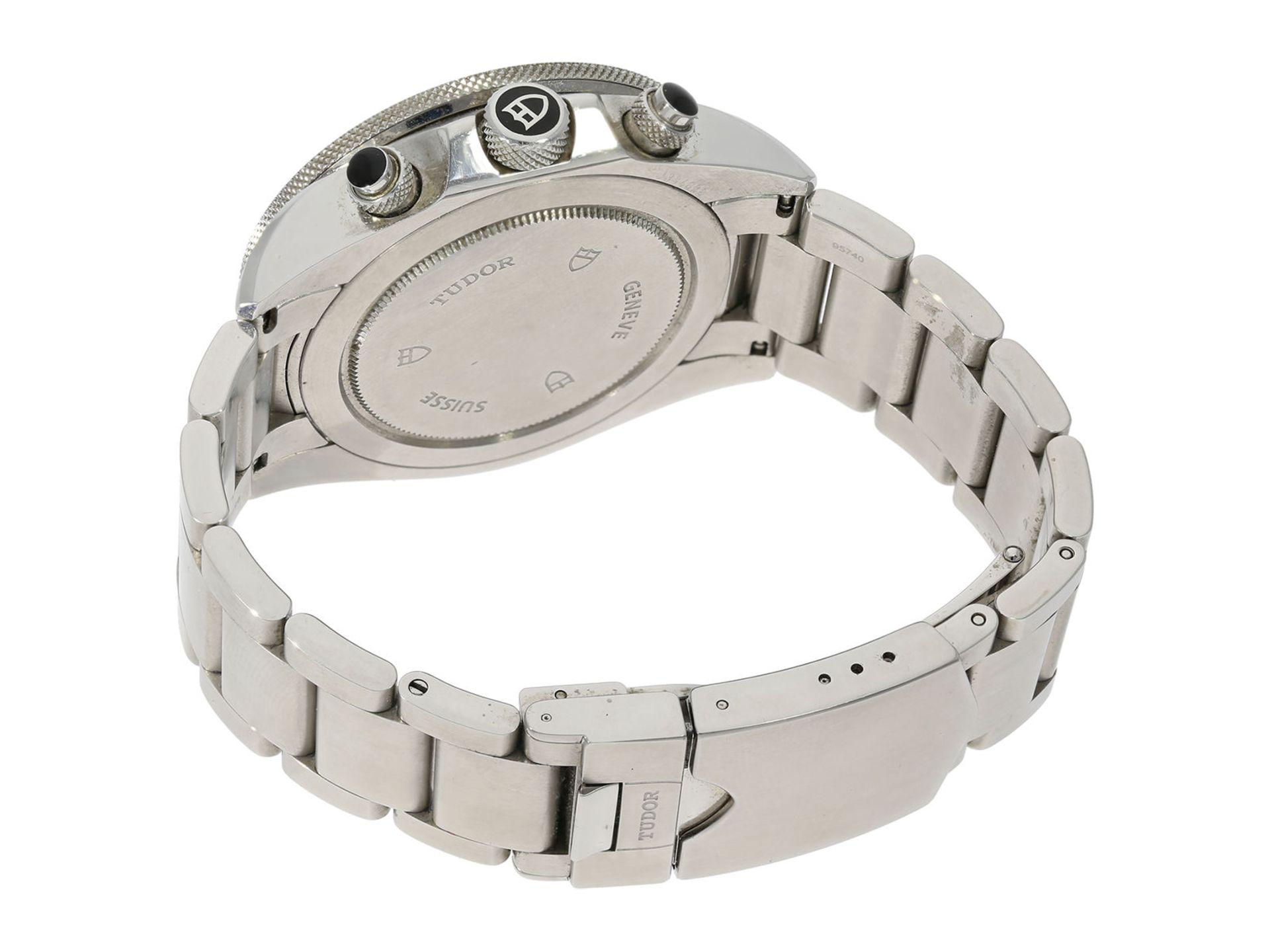"Wristwatch: sporty and very attractive man's chronograph, Tudor ""Black Bay Heritage"" Ref. 70330N, - Bild 3 aus 6"
