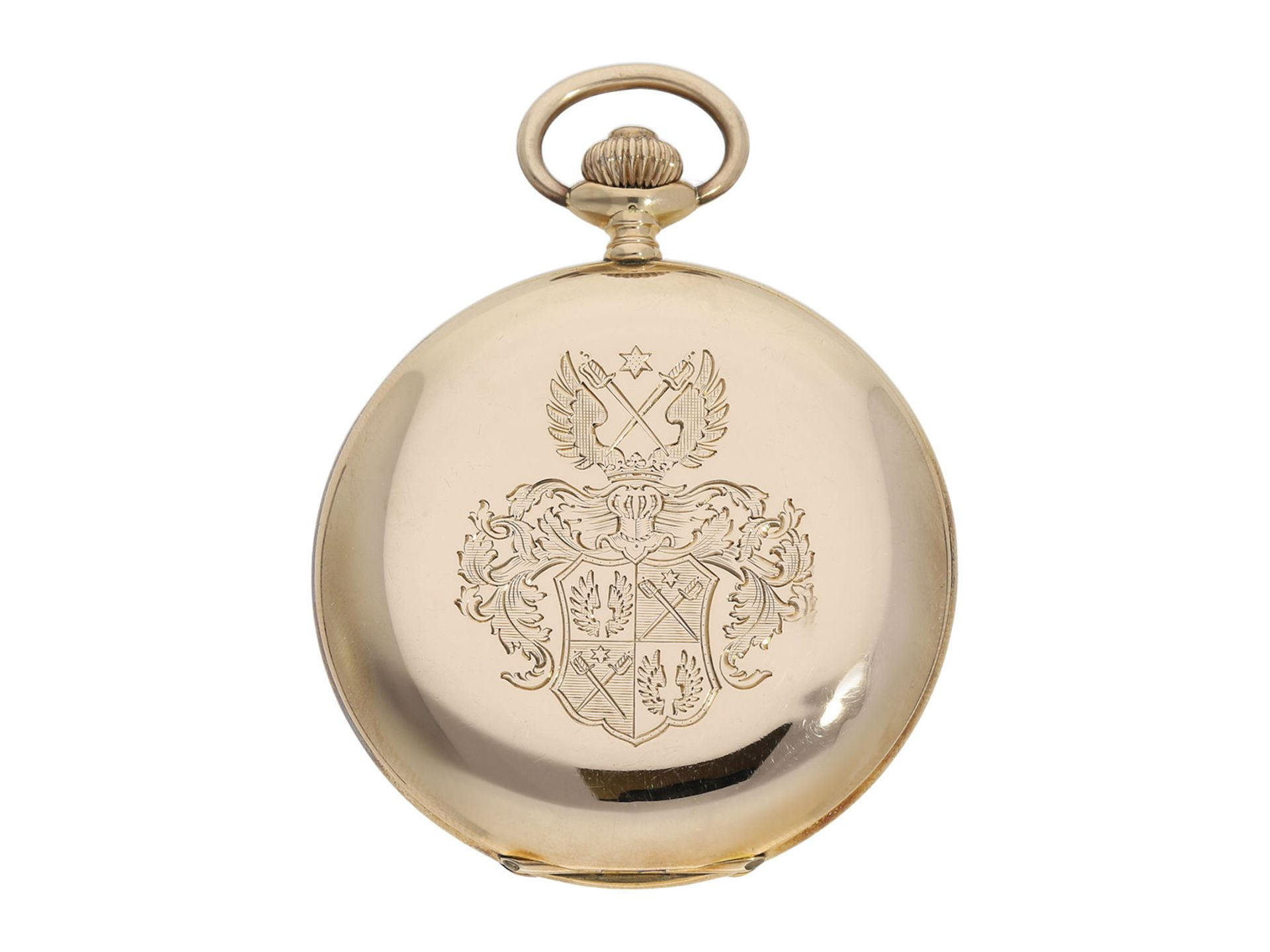 Pocket watch: historically interesting gold hunting case watch from the property of Kurt von - Bild 7 aus 7