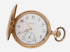 Taschenuhr: rotgoldene Taschenuhr, Audemars Freres, um 1900