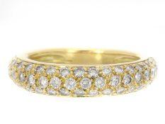 Ring: feiner Brillant-Goldschmiedering, NP ca. 1.000€<b
