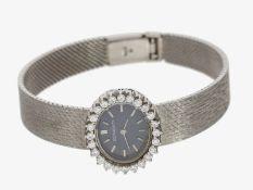 Armbanduhr: luxuriöse vintage Damenuhr von Jaeger Le Coultre, vermutlich 80er-Jahre