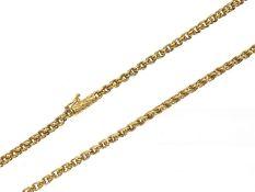 Kette/Collier: außergewöhnliche 2-teilige Goldschmiedekette