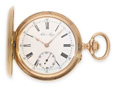 Pocket watch: high-quality pink gold Ankerchronometer, Court Watchmaker of the Russian Tsar, Pavel