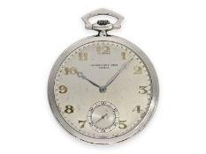 "Pocket watch: exquisite platinum dress watch in Breguet style, ""Chronometer Inter"" Geneve, ca."