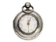Pocket watch: rarity, extremely rare German astronomical double-sided pocket watch with triple