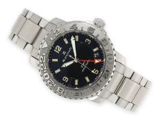 "Wristwatch: sporty, luxury diver's watch Blancpain ""Fifty Fathoms Diver GMT - Ref. 2250-113071"","