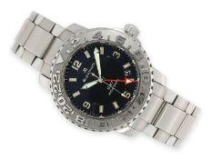 "Wristwatch: sporty, luxury diver's watch Blancpain ""Fifty Fathoms Diver GMT - Ref. 2250-113071"","