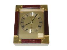 Chronometer: elegantes Seiko Tisch-Chronometer mit Originalbox, vermutlich 70er-Jahre