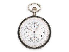 "Taschenuhr: feiner Omega Chronograph, Omega ""Chrono-Tachymeter, Cadran Brevetè S.G.D.G."" mit"