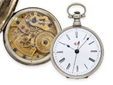 Taschenuhr: feine Taschenuhr für den chinesischen Markt mit Zentralsekunde, ca. 1860