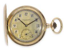 Taschenuhr: feine Genfer Goldsavonnette der Marke Audemars Freres No. 201689, ca. 1920