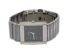 """Armbanduhr: luxuriöse Herrenuhr, Rado Modell """"Integral Platinum"""", nahezu neuwertig mit Box und"""