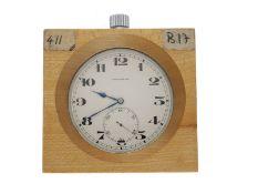Taschenuhr/Chronometer: hochfeines Longines/Nivarox Beobachtungschronometer No.411 mit Chronometer-