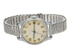 Armbanduhr: seltene, frühe Longines Herrenuhr mit Zentralsekunde, Referenz 22247, 30er-Jahre