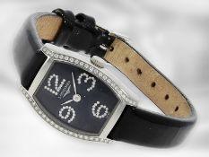 """Armbanduhr: moderne, luxuriöse Damenuhr, Longines Evidenza """"Diamonds"""" Ref. L2.175.0.57.2, ca. 2012,"""