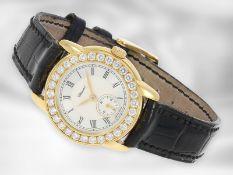"""Armbanduhr: exquisite Chopard Damenuhr mit Brillantlünette, """"Jose Carreras Staatsoper Berlin"""","""
