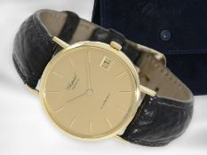 Armbanduhr: hochwertige, große automatische 18K Herrenuhr/Damenuhr von Chopard, Ref.1039, Zustand