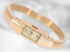Armbanduhr: vintage Spangenuhr, Girard Perregaux, 14K Gold Ca. 10mm breit, ca. 17,4g, 14K Gold,