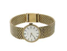 Armbanduhr: vintage Damenuhr der Marke Tissot, 14K Gold
